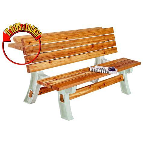 flip bench flip top bench table 90110