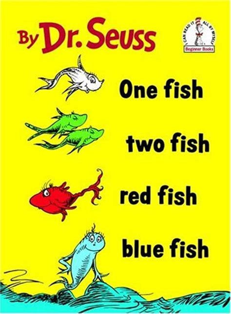Seuss 187 Nine Kinds Of Pie One Fish Two Fish Fish Blue Fish Coloring Page