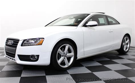 2010 Audi A5 Coupe by 2010 Used Audi A5 2 0t Quattro Awd Coupe