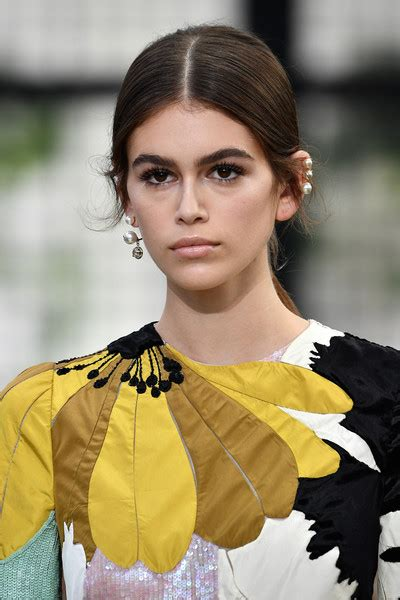 kaia gerber earrings more pics of kaia gerber dangling pearl earrings 5 of 9