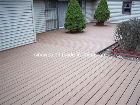 Plastic Patio Flooring by Wood Decks Engineered Wood Decks