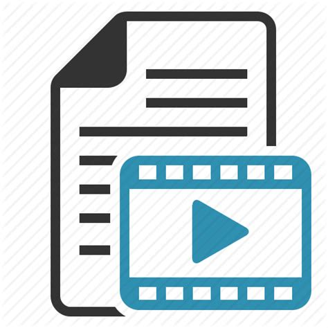 format file film avi document file film format movie page video icon