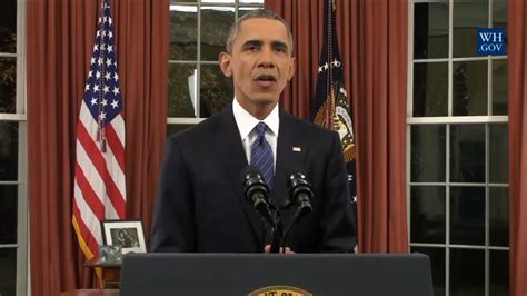 Why Is Obama Still In Office by From Oval Office President Obama Vows U S Will Defeat