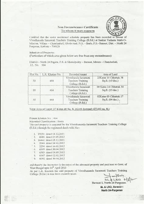 Encumbrance Certificate For Property Buying   what is encumbrance certificate in property buying