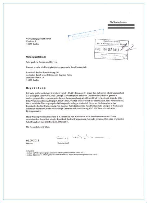 Vorlage Antrag Verwaltungsgericht Unt 228 Tigkeitsklage
