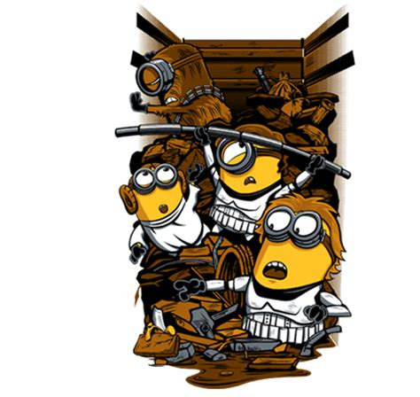 Minions World Graphic 7 wars and minions trash compactor mashup geektyrant