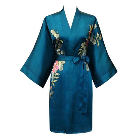 kimono robe silk kimono robe buy a painted kimono