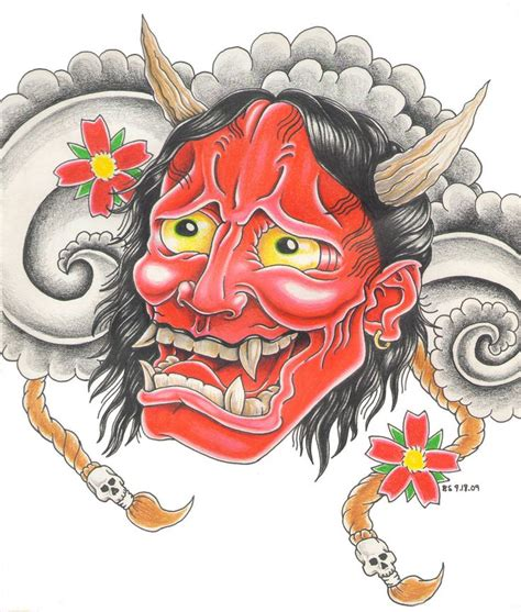 japanese mask tattoo design 141 best printme images on design tattoos