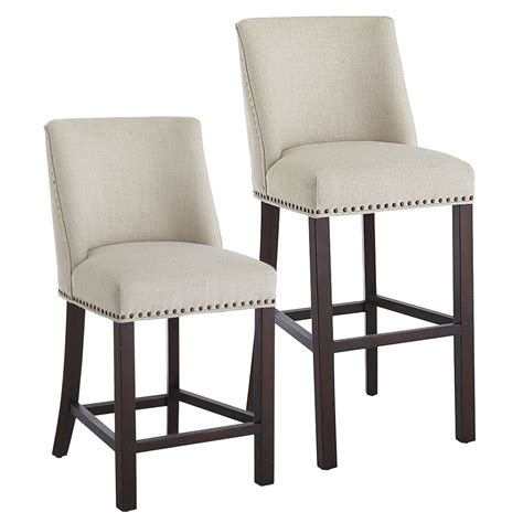 corinne linen counter bar stool pier 1 imports