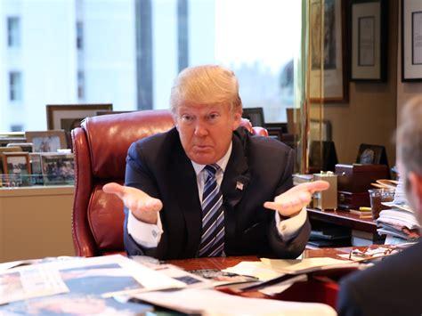 donald trump business donald trump interview business insider