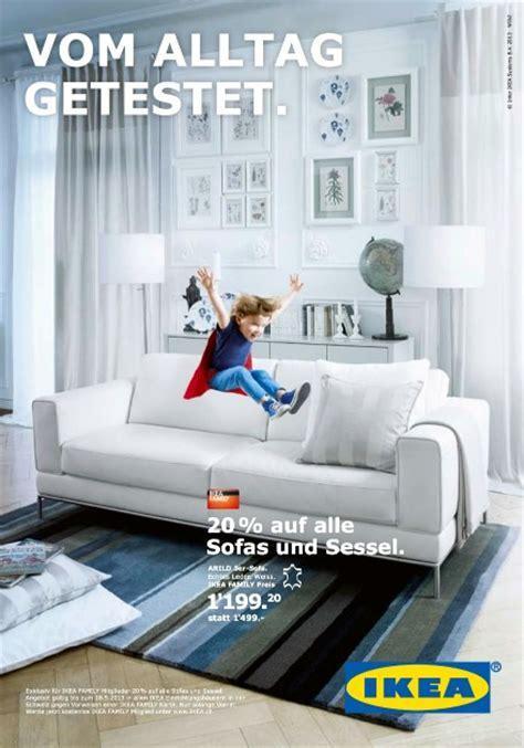 Ikea Sofa Werbung by Wirz Ikea Sofa Im H 228 Rtetest Werbung