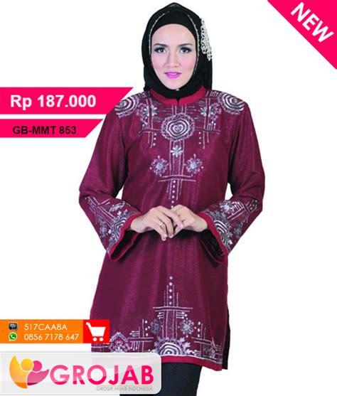 Java Tunik by Tunik Java Seven Mmt 853 Busana Muslim Baju Muslim