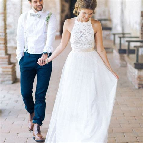 High Designer Wedding Dresses by High Neck White Lace Sheath Simple Design White Lace