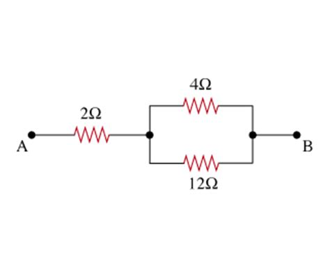 combination resistors for the combination of resistors shown find the e chegg