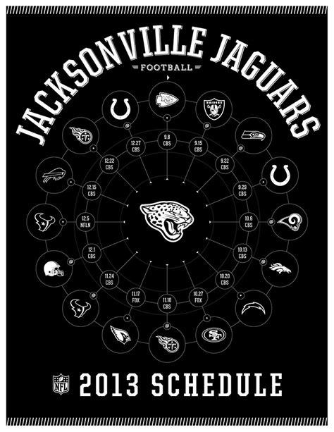 Jacksonville Jaguars 2013 Schedule | Brandon Kish 2013
