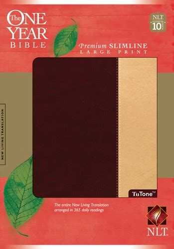 Pdf One Year Bible Niv Large Print by Bibles At Cost The One Year Bible Niv Premium Slimline