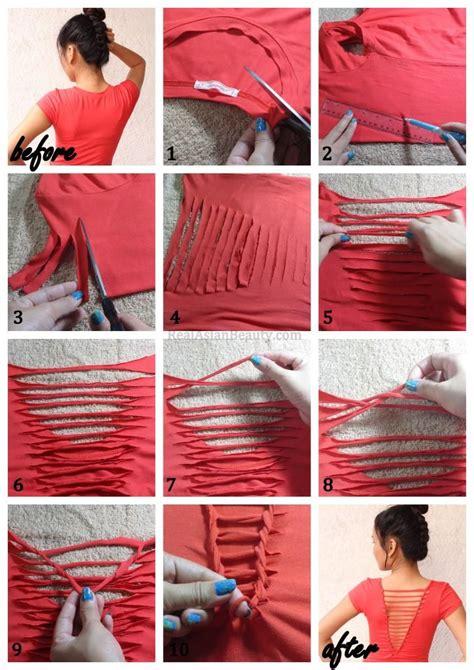 Diy Clothing Ideas by 16 Diy T Shirts Ideas Modern Magazin