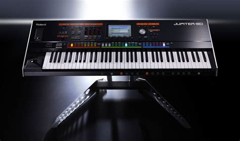 Keyboard Yamaha Roland roland jupiter 80 synthesizer keyboard 76 key zzounds