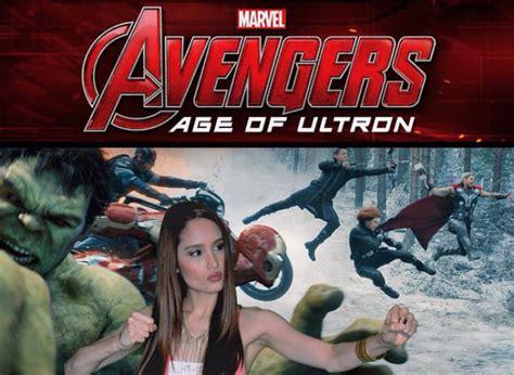 cinta laura di film avengers cinta laura pamer pengalamam wawancarai bintang avengers