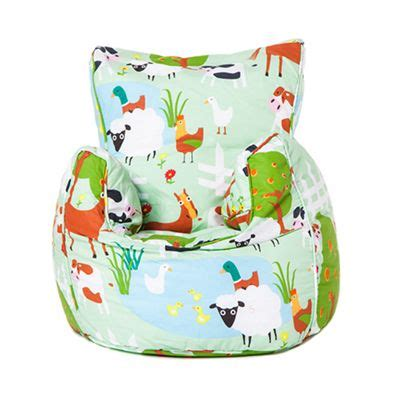 toddler bean bag armchair buy le farm children s toddler bean bag armchair seat