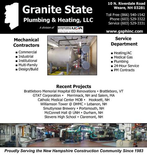 State Board Plumbing by Granite State Plumbing And Heating Platinum Sponsor