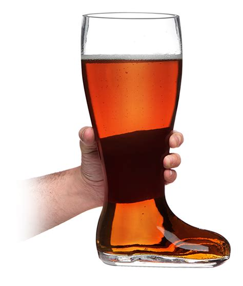 Kitchen Tools And Gadgets by Das Boot Beer Glass Thinkgeek