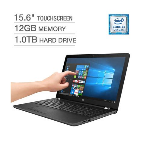 hp 15 bs033cl 15 6 quot touchscreen intel i3 7th notebook usanotebook klugex inc
