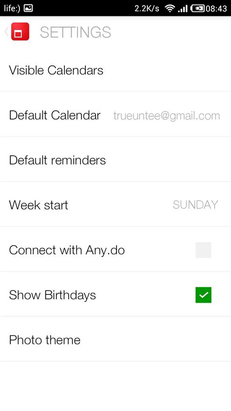 Cal Calendar Cal Calendar By Any Do Soft For Android Free