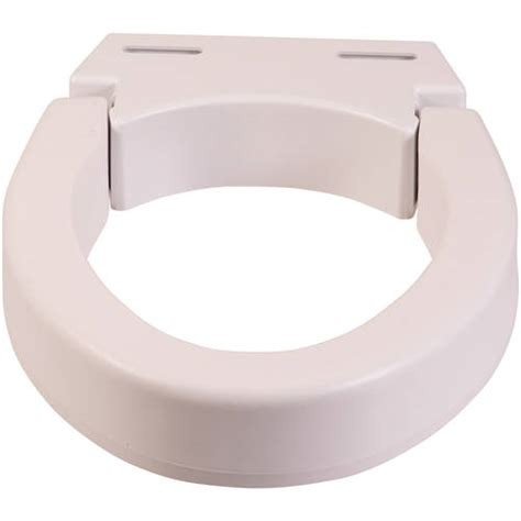 high rise toilet seat walmart dmi hinged elevated toilet seat riser elongated walmart