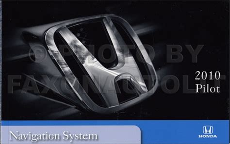 car maintenance manuals 2003 honda pilot navigation system 2010 honda pilot navigation system owners manual original