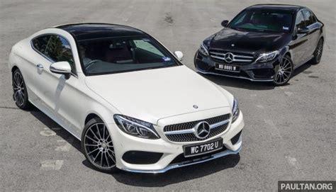 GALLERY: Mercedes Benz C300 Coupe vs sedan