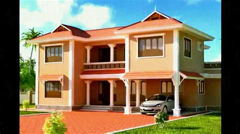 interior paint colors in kerala indian house painting designs residential building
