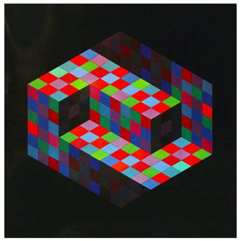 Victor vasarely gestalt series prints by editions du griffon for sale at 1stdibs