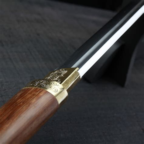 black blade katana sword handmade japanese katana samurai sword carbon steel blade