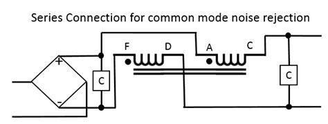 common mode choke rejection j k audio design 2 coil choke