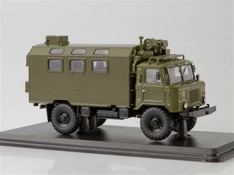 ssm1192 gaz 66 military kung truck khaki ssm