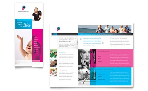 photography business brochure template design