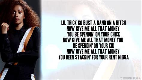 youtube cardi b lyrics cardi b washpoppin lyrics video youtube