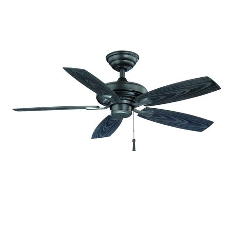 hton bay gazebo ii 42 in indoor outdoor ceiling fan hton bay gazebo ii 42 in indoor outdoor iron