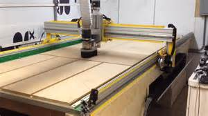 Table Top Cnc Router 13 X 6 Cnc Router Planing The Table Youtube