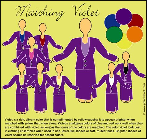 what colours match purple image titled match colors step 9 colours matching violet clothes with other colors