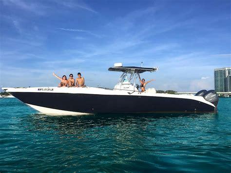 everglades fishing boat rentals miami boat rental wahooa watersports