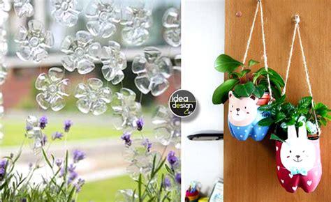 idee riciclo casa riciclo bottiglie di plastica idee per un riciclo creativo