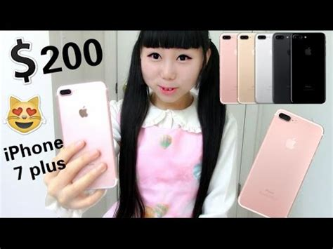 i got iphone 7 plus for only 200 iphone 7 plus unboxing and review
