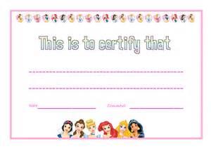 princess certificate template disney princess printables invitations cards printable princess award certificate free printable