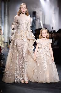 elie saab couture fall 2016 kids on the runway pret a