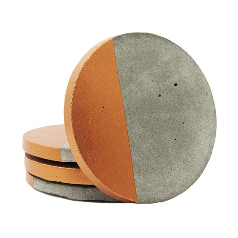 drink coasters concrete coasters modern coasters drink coasters cement