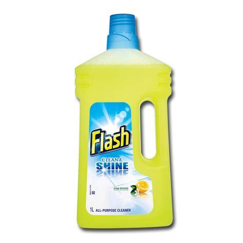 All Floor Cleaner by Flash Clean Shine Crisp Lemon All Purpose Floor Cleaner