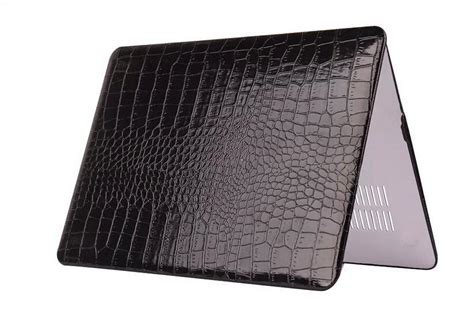 Aligator Macbook 13 Leather Cover Macbook Sleeve crocodile pattern pu leather for apple macbook pro 13 computer protective bag cover for