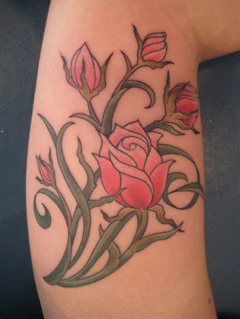 blooming flower tattoo designs 44 stunning flower tattoos you ll these